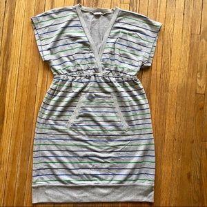 Splendid | Super Soft Gray V-Neck Dress
